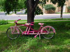 Tandem Bike Window Display