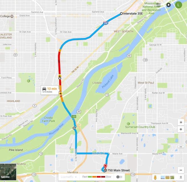110 Alternatives - Hwy 35E South