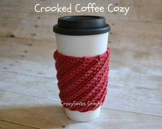 Crooked Coffee Cozy